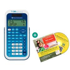 Ti 34 Multiview calculadora + mathefritz aprender CD