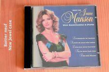 Jeane Manson - Une américaine à Paris - La Chapelle de Harlem - Vis ta vie - CD
