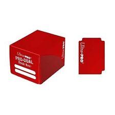 Porta Mazzo: Small Pro Dual Deckbox ROSSO 120 #82983 Carte Ultra Pro Magic