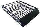 Black Aluminum Universal Roof Basket Cargo Carrier Rack Car SUV Top Luggage New!