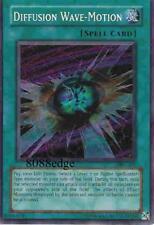 "YuGiOh! ""DIFFUSION WAVE-MOTION"" MFC-107 Yu-Gi-Oh SECRET RARE HOLO FOIL CARD"