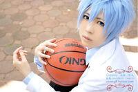 Kuroko's Basketball Kuroko Tetsuya short Ice Blue Cosplay Costume Wig