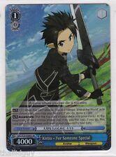 Weiss Schwarz TCG Sword Art Online Kirito Someone Special foil SAOS20-E080S SR
