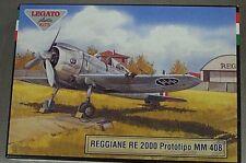 Legato 1/72 Reggiane RE 2000 Prototype MM 408 Italian Fighter 7208