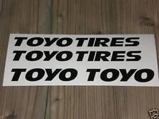 TOYO Aufkleber Set Sticker Tires Slicks Semi Rennreifen Racing Rennsport R888