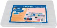 Darice 1157-11 No Spill Organizer 13.7-Inch-by-8.6-Inch-by- 1.37-Inch