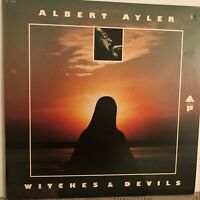 ALBERT   AYLER             LP       WITCHES   AND    DEVILS    (  PROMO  )