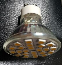 GU10 24 5050 SMD LED High Power Spotlights 5W AC220-240V Warm White Dimmable