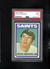 1972 Topps # 55 Archie Manning RC PSA 9 MINT