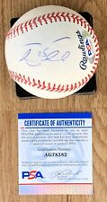 Tim Tebow Signed Rawlings OML Baseball Mets Florida Gators Heisman PSA/DNA COA
