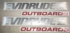 Evinrude Outboard Decals