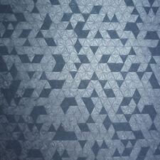 35982 - Opus Geometric Origami Navy Metallic Holden Wallpaper