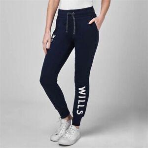 Jack Wills Women's Locked Slim Jogging Sweatpants In Navy