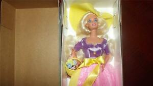 BARBIE Avon Exclusive doll SPRING BLOSSOM NRFB special First in series 1995 BOX