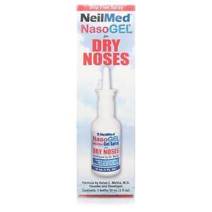 NeilMed NasoGel Drip-Free Spray for Dry Noses 30ml Bottle