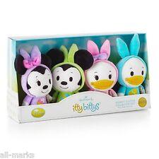 Itty Bittys~Disney Easter Collector Set~Hallmark~Bunny Ears~Mickey~Minnie~Mib