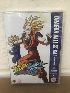 DRAGON BALL Z KAI THE FINAL CHAPTERS PART 1 DVD EPISODES 99-121 - NEW SEALED
