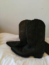 GRINDER cowboy boots, UK 6, brown leather, used