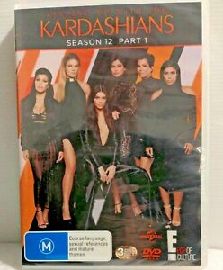 Keeping Up With The Kardashians : Season 12 : Part 1 (DVD, 2016, 3-Disc Set)