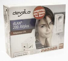 Devolo dLAN 200 AVplus Powerline HomePlug AV Adapter NEU #R1-A8