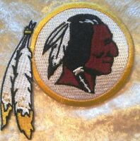 "Washington Redskins 3.5"" Iron On Embroidered Patch ~US Seller~FREE Ship"