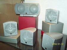 NEW DUAL Powered Theater 1000 5.1-channel Home Theater Speaker System Shielded
