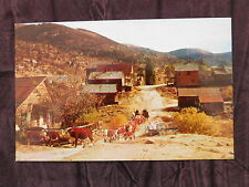 Vintage Postcard: Silver City Id Cattle Drive