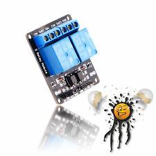 Arduino ESP8266 2 Kanal/Channel Relais Modul 5V 10A/250VAC 10A/30VDC Optokoppler