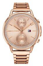 TOMMY HILFIGER Reloj de mujer 1781915 Análogo Multi Función Acero inox. Rosado