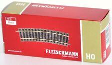 Fleischmann H0 6122-s Rails Courbés 18° Rayon R1 (10-pc)