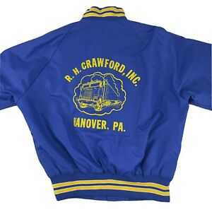Vintage Pla-Jac By Dunbrooke Blue Trucker Jacket Harry USA Size L
