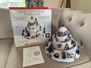 Mr Christmas Winter Wonderland Animated & Light Up Holiday Hill