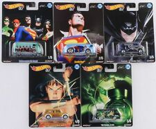 1:64 Hot Wheels Pop Culture Alex Ross DC Heroes 5 Stück Set DLB45