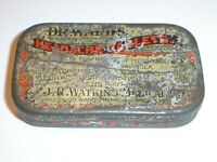 Vintage Dr. Ward's Headache Tablets Advertising Tin J.R. Watkins Medical Co.