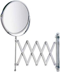 Kela 20719 Standspiegel FIONA Kosmetikspiegel Schminkspiegel Tischspiegel silber