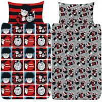 Beano Dennis & Gnasher Duvet Cover Single/Double/King Reversible Bedding