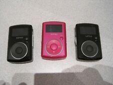 Lot of 3 SanDisk Sansa Clip Digital Media Music MP3 Player FM Radio AS-IS