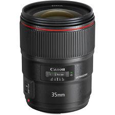 New Canon EF 35mm f/1.4 L II USM Lens
