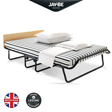 JAY-BE Jubilee Double Folding Bed with Airflow Fibre Mattress