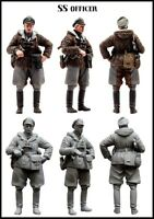 1/35 WW2 RESIN MODEL KIT FIGURE GERMAN WAFFEN SS OFFICER IN WINTER