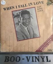 """NAT KING COLE When I Fall In Love 1987 UK 7"""" vinyl single EXCELLENT CONDITION"""