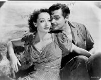 8x10 Film Negative Clark Gable Joan Crawford Strange Cargo #1154