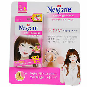 3M Nexcare Blemish Acne Clear Cover CARE DRESSING PIMPLE STICKERS PATCH 192PCS