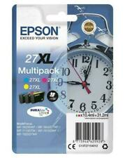 Epson 27XL DURABrite Ultra Ink Cartridge - Cyan/Magenta/Yellow (C13T27154012)