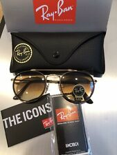 New Authentic Ray-Ban Round Double Bridge RB3647N