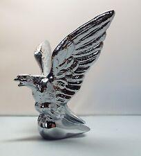 CHROME PLATED EAGLE CAR BONNET MASCOT (small)
