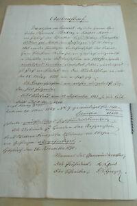 Document Hitzkirch 1870: Auskaufbrief For Widow Franziska Widmer, Born Moser