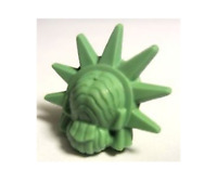 LEGO Minifig, Headgear Hair Female with Spiked Tiara (Lady Liberty) new