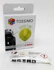Tassimo T Disc Servicio Limpieza Disco y 2 Tabletas de Descalcificación. 621101, 311530S