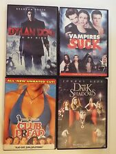 4 DVD-Dylan Dog:Dead of Night,Club Dread,Vampires Suck,Dark Shadows-horror-comed
